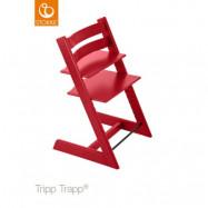 Stokke Tripp Trapp matstol, röd, Röd