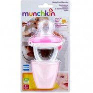 Munchkin Baby Food feeder (Rosa)