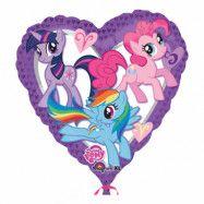 Folieballong My Little Pony Hjärta