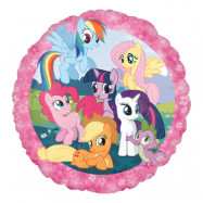Folieballong Rund My Little Pony