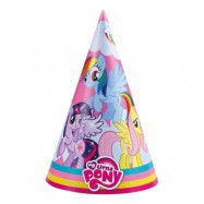 Partyhattar My Little Pony - 8-pack