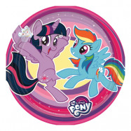 Pappersassietter My Little Pony - 8-pack