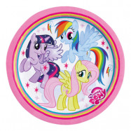 Papperstallrikar My Little Pony - 8-pack