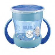 NUK Evolution Mini Magic Cup160 ml, blå