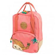 Pippi Långstrump Retro Backpack (Rosa)