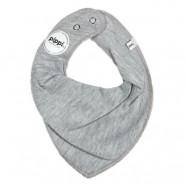 Pippi Drybib (Grey Melange)