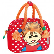 Libro Fashion Pippi Långstrump, Handväska med flätor röd