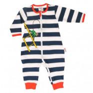 Pippi Långstrump - Herr Nilsson Randig Pyjamas (56)
