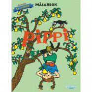 Pippi Långstrump - Målarbok