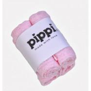 Pippi Tvättlappar 4-pack (Ljusrosa)