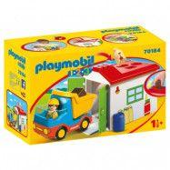 Playmobil 1.2.3 - Sortering på återvinningsstationen