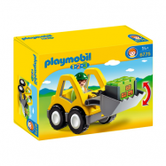 Playmobil, 1.2.3 - Grävmaskin