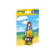 Playmobil, 1.2.3 - Kvinna med hund