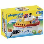 Playmobil 1.2.3 - Bärbart skepp 6957
