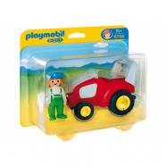Playmobil, 1.2.3 - Traktor med bonde