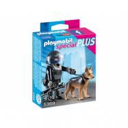 Playmobil, City Action - 5369 Specialpolis med hund