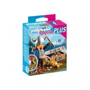 Playmobil, Knights - Viking med skatt