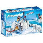 Playmobil, Sports&action - Polarforskare med isbjörnar