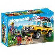 Playmobil, Sports&action - Fjällräddningsteam med bil