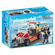 Playmobil, City Action - Brandmännens fyrhjuling