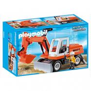 Playmobil City Action 6860, Skovelgrävmaskin med justerbart blad