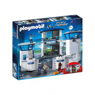Playmobil City Action 6919, Polishuvudkontor med fängelse
