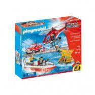 Playmobil City Action Brand och räddningsset