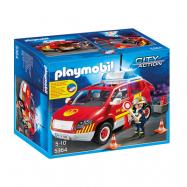 Playmobil, City Action - Brandchefens bil med ljud och ljus