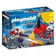 Playmobil City Action Brandmän med vattenpump 9468