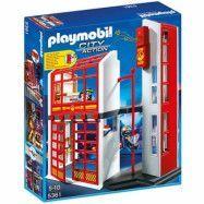Playmobil City Action - Brandstation med alarm 5361