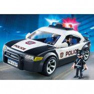 Playmobil, City Action - Polisbil och ljus