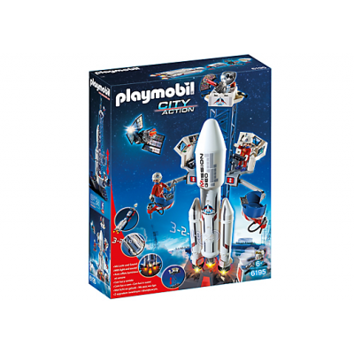 Playmobil City Action, Rymdraket med basstation