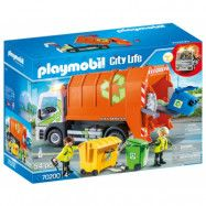 Playmobil City Life - Återvinningsbil