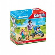 Playmobil City Life Mamma med barn 70284