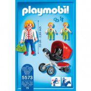 Playmobil City Life - Mamma med tvillingvagn