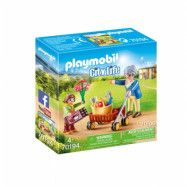 Playmobil City Life - Mormor med barn