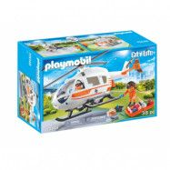 Playmobil City Life Räddningshelikopter