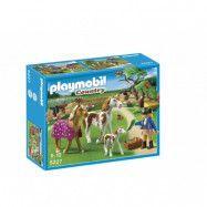 Playmobil Country 5227, Paddock med hästfamilj