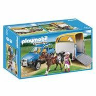 Playmobil Country - Bil Med Hästsläp 5223