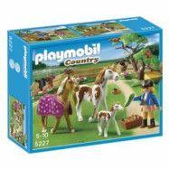 Playmobil Country - Paddock med Hästfamilj 5227
