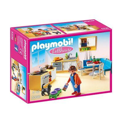 Playmobil Dollhouse - Lantligt Kök