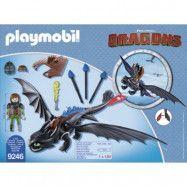 Playmobil Dragons - Hicke och Tandlöse 9246