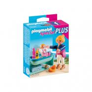 Playmobil, City Life - Mamma med skötbord