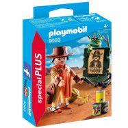 Playmobil Special Plus - Cowboy med Efterlyst-affisch 9083