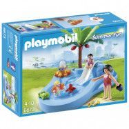 Playmobil Summer Fun, Barnpool med rutschkana