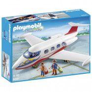 Playmobil Summer Fun - Flygplan med pilot och turister 6081