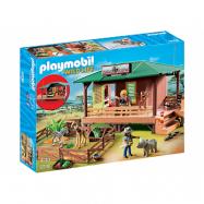 Playmobil Wild Life 6936, Vaktstuga för skadade djur