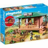 Playmobil Wild Life - Vaktstuga för skadade djur 6936