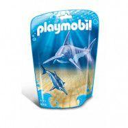 Playmobil, Wild Life - Svärdfisk med unge