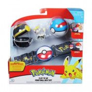 OVG - PROXY APS Pokémon, Clip ´N Go Belt Set - Great Luxury Ball Jangmo-O